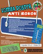 LOMBA POSTER ANTI ROKOK