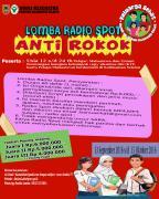 LOMBA RADIO SPOT ANTI ROKOK